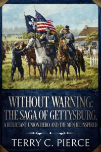 Cover of Without Warning based on a painting by Dale Gallon
